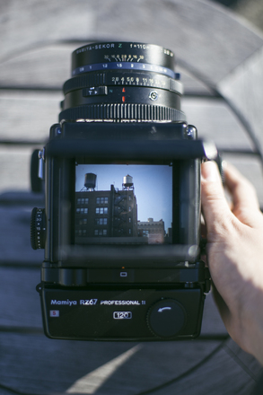 Rent a Mamiya RZ67 Pro II Kit with 110mm lens and Prism