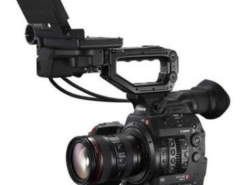 Rent: (X2) Canon C300 MK2 packages, bodies only w/media&batts