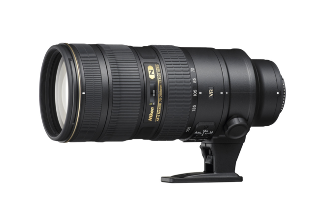 Nikon AF-S NIKKOR 70-200mm f/2.8G ED VR II Zoom Lens