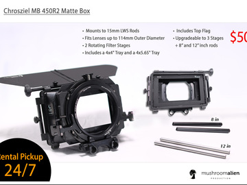 Rent: Chrosziel MB 450R2 Matte Box