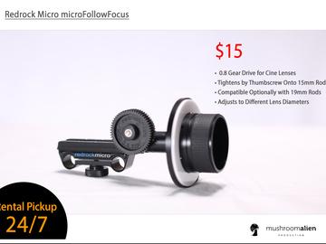 Rent: Redrock Micro Followfocus