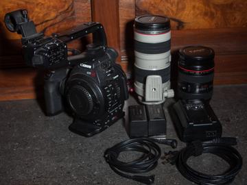 Rent: Canon C100 MK I Duel EF Lens Kit