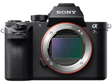 Sony A7sii with cards, batteries and Metabones E-EF mount