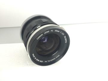 Rent: Vintage Canon FL/FD 35mm f2.5