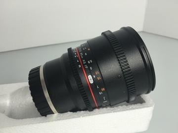 Rent: Rokinon 85mm T1.5 Cine Sony NEX