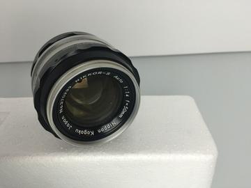 Rent: Vintage Nikon Nikkor-S 50mm f1.4