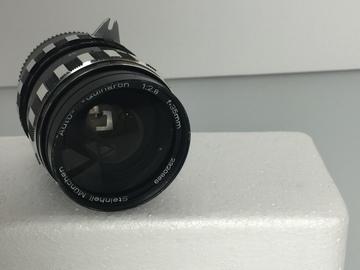 Rent: Vintage Steinheil-München Auto-D-Quinaron 35mm f2.8 Nikon-MT