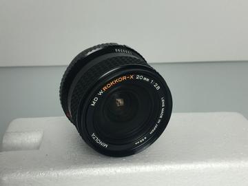Rent: Vintage Minolta W-Rokkor-X 20mm f2.8