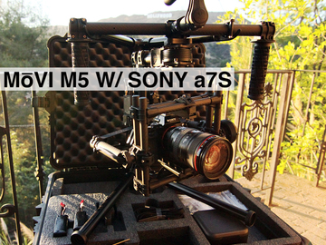 Rent: Movi M5 with Sony a7S  Package (2 Available)