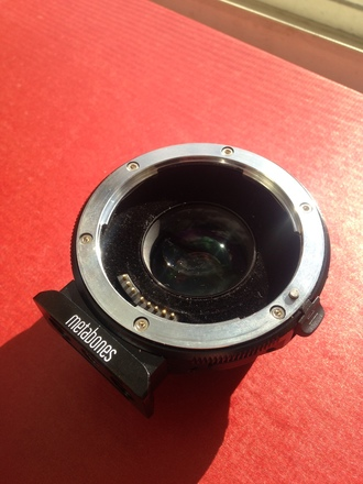 Metabones Speed Booster Ultra 0.71x Adapter for Canon Full-F