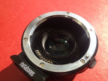 Rent: Metabones Speed Booster Ultra 0.71x Adapter for Canon Full-F