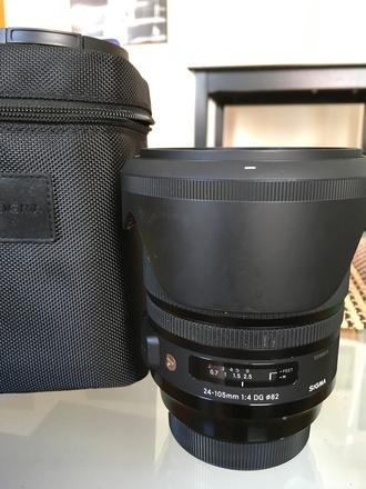 Sigma 24-105mm F4 - Canon