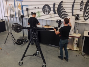 Rent: Kessler Pocket Jib, Kpod, Hercules Head and Pocket Dolly