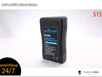 Rent: IndiPro 95Wh V-Mount Battery