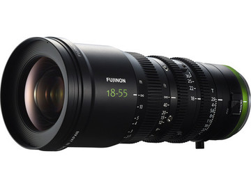 Rent: Fujinon MK 18-55mm T2.9 Lens (Sony E-Mount) (1 of 2)