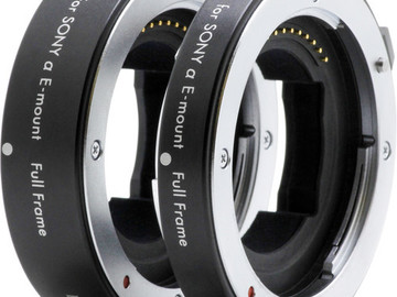 Rent: Kenko DG Extension Tube Set for Full-Frame Sony E-Mount