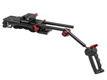 Rent: Zacuto shoulder rig with matte box and follow focus