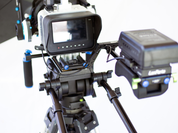 Rent: BlackMagic 4K Production Camera Package - Lenses, Rig