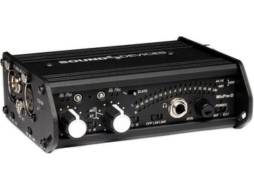 Rent: Sound Devices Mixpre Portable 2 Chnl Field Mixer
