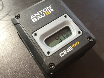 Rent: Anton Bauer CINE 150 Battery