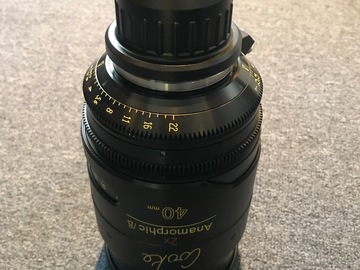 Rent: Cooke Anamorphic 40mm Lens