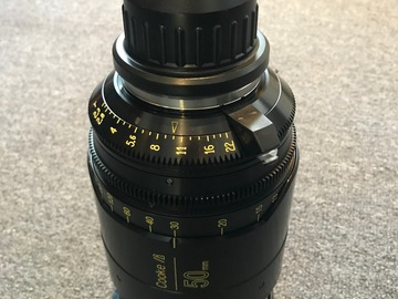 Rent: Cooke Anamorphic 50mm Lens