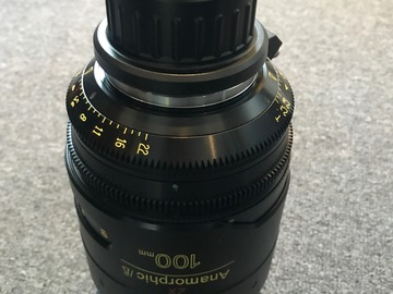 Rent: Cooke Anamorphic 100mm Lens