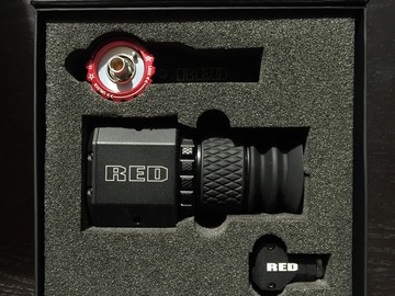 Rent: DSMC2 RED EVF (OLED) W/ MOUNT PACK