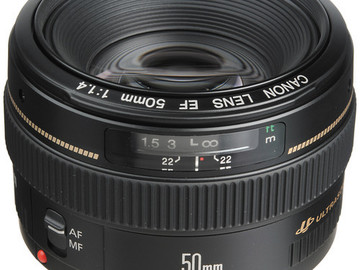 Rent: Canon EF 50mm f/1.4 USM Lens