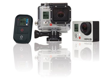 Rent: Go Pro Hero HD 3 - black & accessories