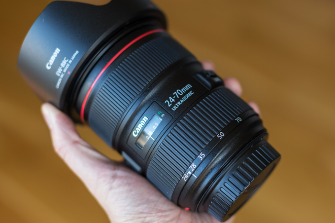 Canon L Seres II 24-70 F2.8