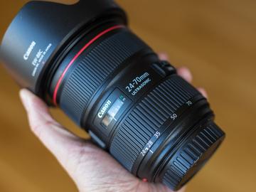 Rent: Canon L Seres II 24-70 F2.8 BRAND NEW