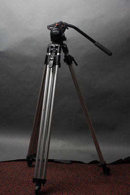 Manfrotto 546 2-Stage Tripod with Manfrotto 501HDV Head