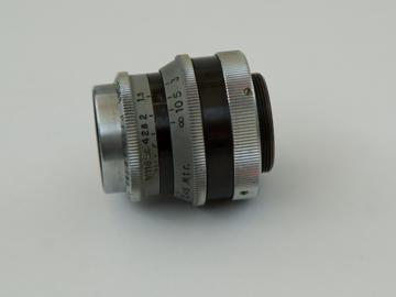 "Rent: Meyer Gorlitz Primoplan f1.5 25mm 1"" Lens in C-Mount"