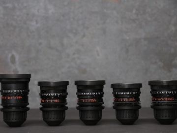 Zeiss Super Speed Lens Set #2 (18,25,35,50,85)