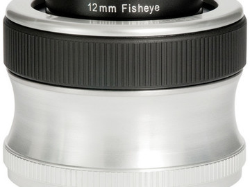 Rent: FISH-EYE LENS BABY (SCOUT) EF MOUNT ONLY