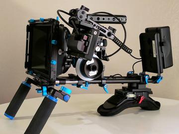 A6300 4k Package - Lenses, Tripod, Handheld