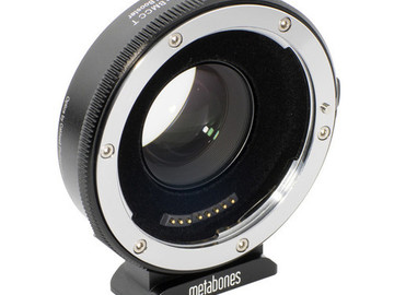 Rent: Metabones EF - M43 mount Speed Booster