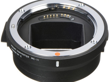 Rent: Sigma MC-11 Lens Adapter EF - E mount