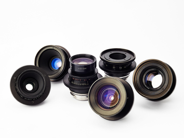 Rent: LOMO PL Lens Set (21, 28, 35, 50, 80 - T2.3)(18 - T3.1)