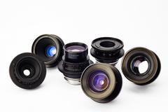 Rent: LOMO PL Lens Set (21, 28, 35, 50, 80 - T2.3)(18 - T3.1)