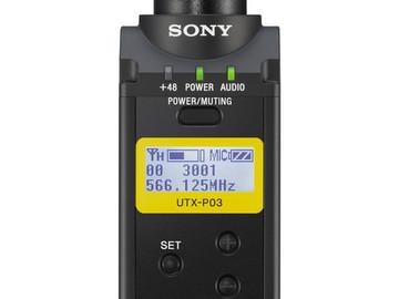 Rent: Sony UTX-P03 Wireless Plug-On Transmitter