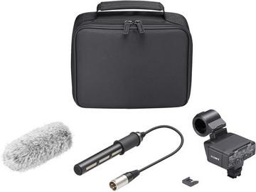 Rent: Sony XLR-K2M XLR Adapter Kit with Microphone