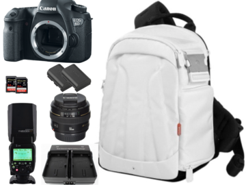 Rent: Canon 6D Package