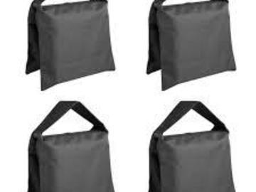 Rent: 4-25LB Sandbags