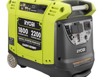 Rent: Ryobi 2200 Watt Generator