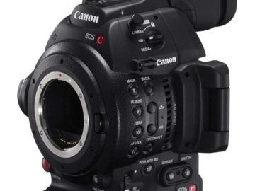 Rent: Canon C100 Mark 2 Kit With Lenses