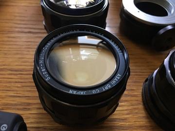 Rent: Pentax Vintage Lens Kit