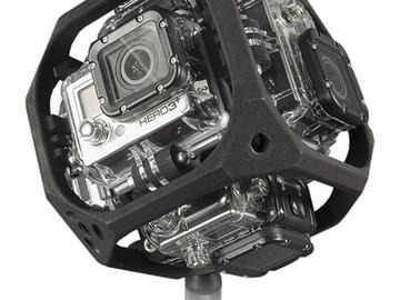 Rent: VR/360 CAM Pkg: Freedom 360 Explorer + 6 GoProHero4 Black