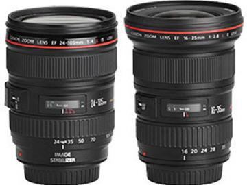 Rent: Canon L Series Lens Kit